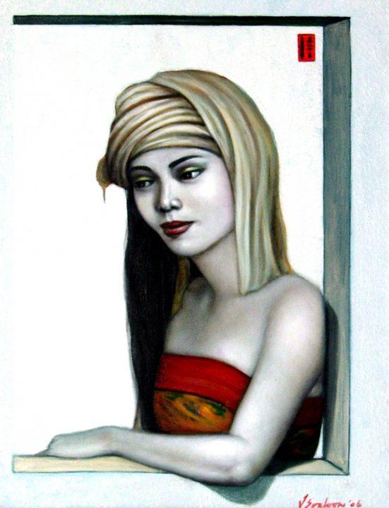 Behind the Window - Stephanie Gallery