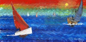 Sailboats - Stacy Handley