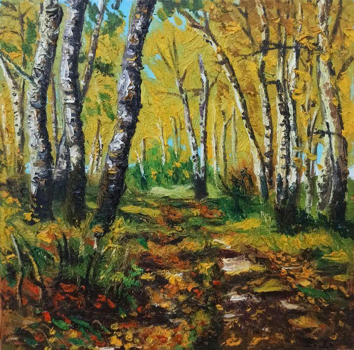 Autumn in the forest - elvi.art