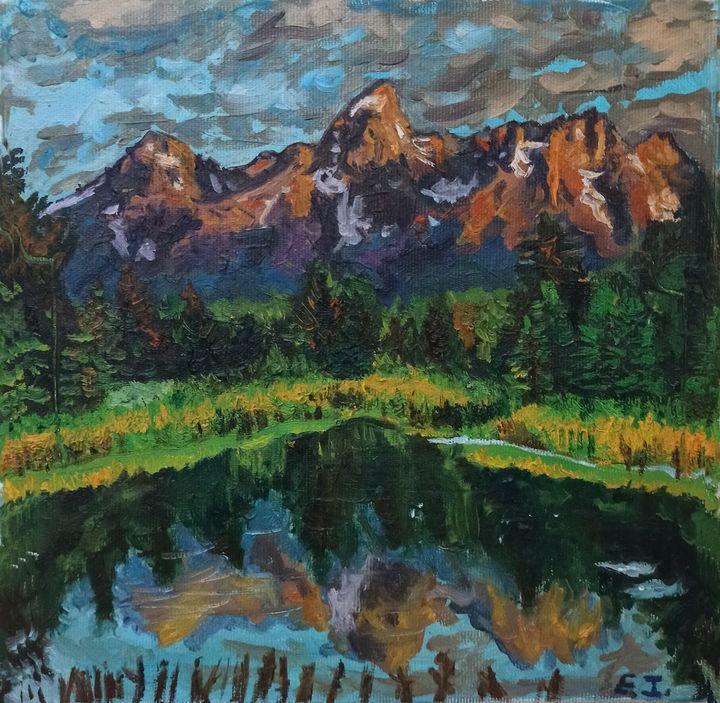 Mountain Lake - elvi.art