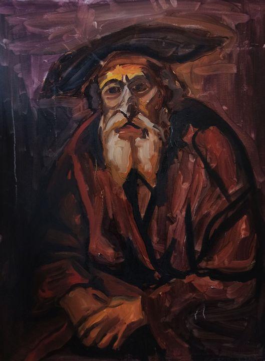 Old Man - elvi.art