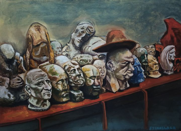 Heads of Sculptures - elvi.art