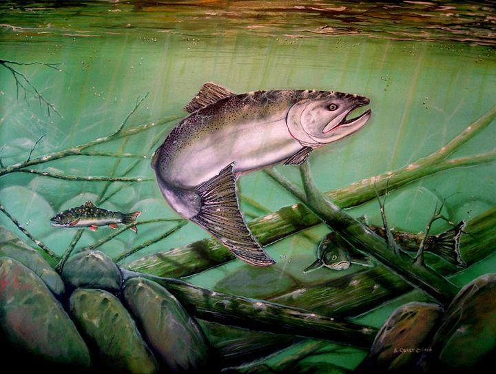 Chinook Salmon - Quist Art Studio
