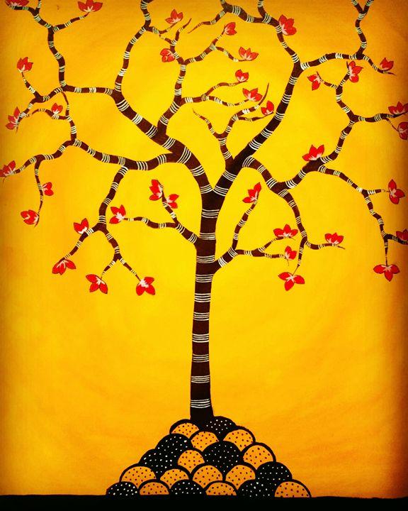 Tree of life series 1 - Madhavi Sandur