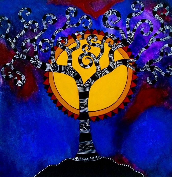 Tree of life series 3 - Madhavi Sandur