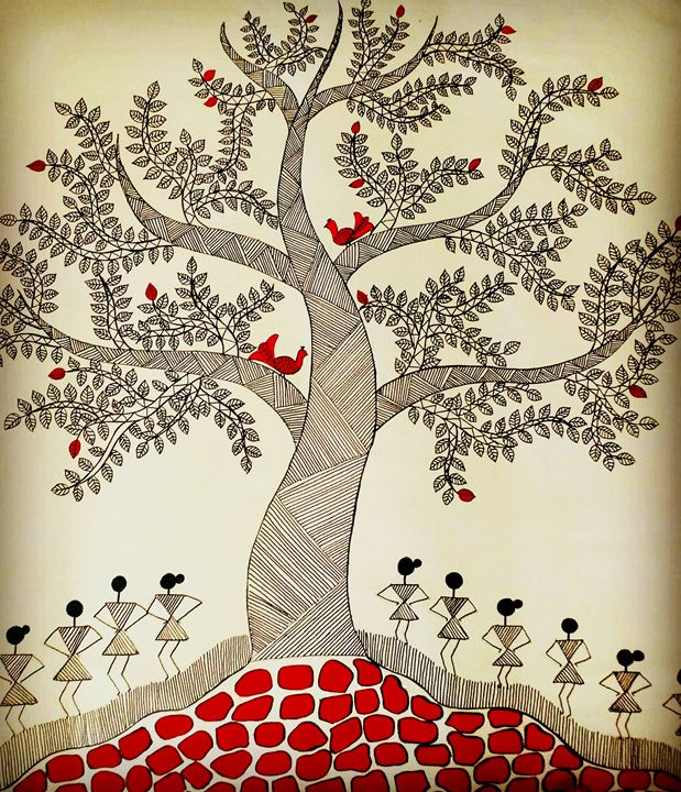 Tree of life series 2 - Madhavi Sandur