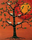 contemporary art of tree