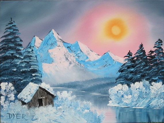 Sunrise in the north - Leonard Dyer Artworks