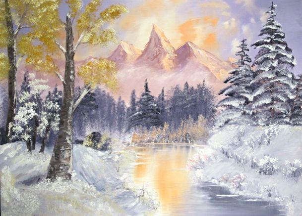 Pastel Morning Spirit - Leonard Dyer Artworks