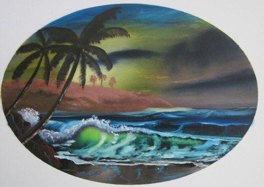 Sunset nights - Leonard Dyer Artworks