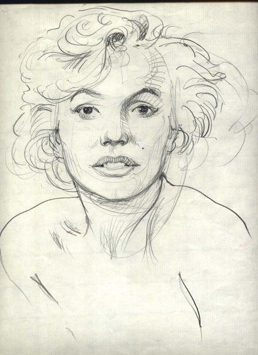 Pass famous woman - Ralf Drawings.