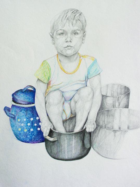 Hide and seek - Maja Mrdakovic art
