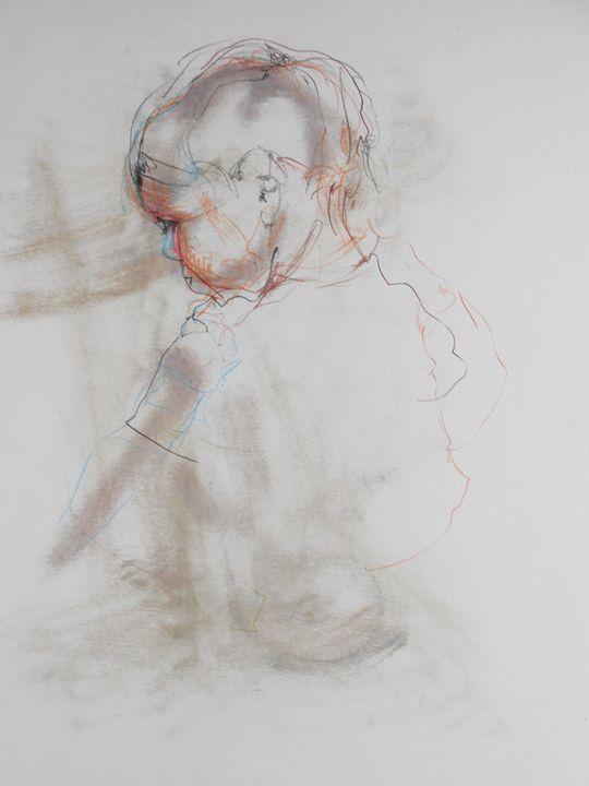 Melancholy - Maja Mrdakovic art