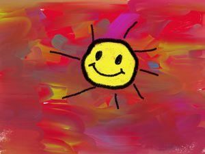 Tie-Dye Sun