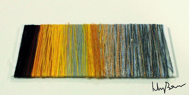 Sunset Thread Wrap - Lily Bowler Art