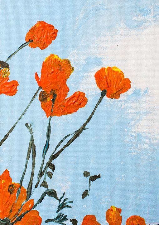 Poppy 17 - 100poppies100days