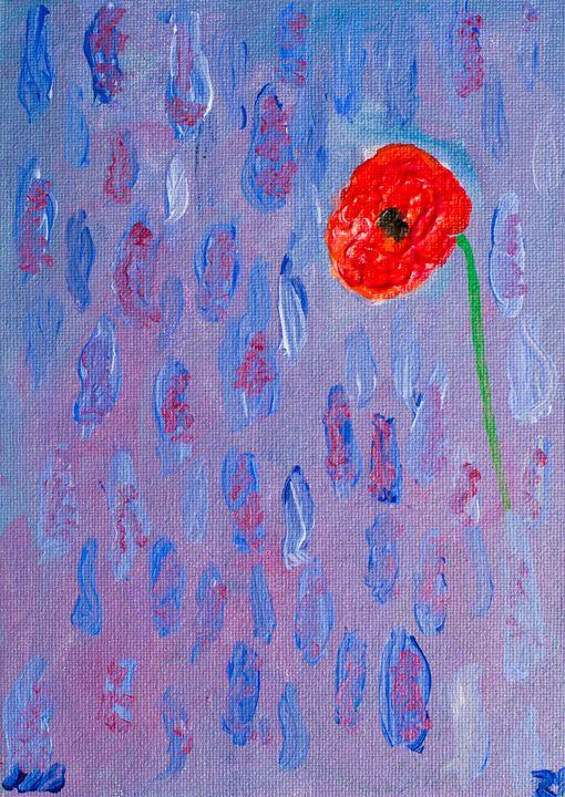 Poppy 29 - 100poppies100days