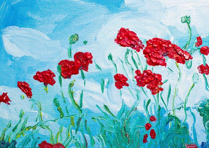 Poppy 42 - 100poppies100days