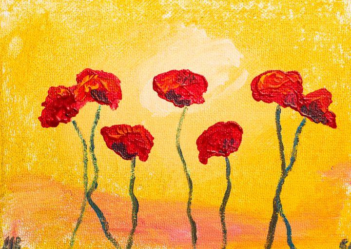 Poppy 51 - 100poppies100days