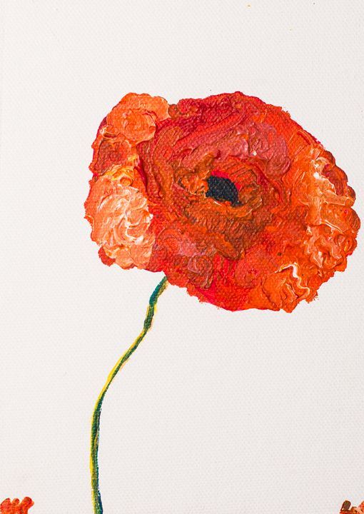 Poppy 52 - 100poppies100days