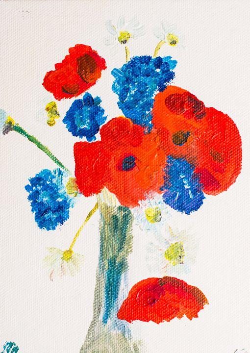 Poppy 63 October 5th 2014 - 100poppies100days