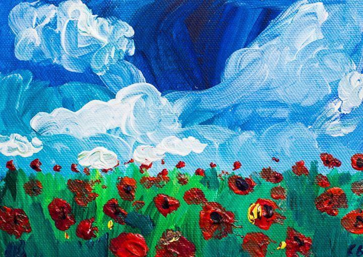 Poppy 66 October 8th 2014 - 100poppies100days