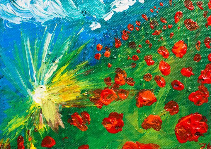 Poppy 77 October 20th 2014 - 100poppies100days