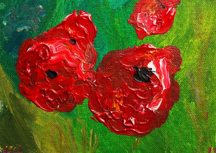 Poppy 88 October 31st 2014 - 100poppies100days