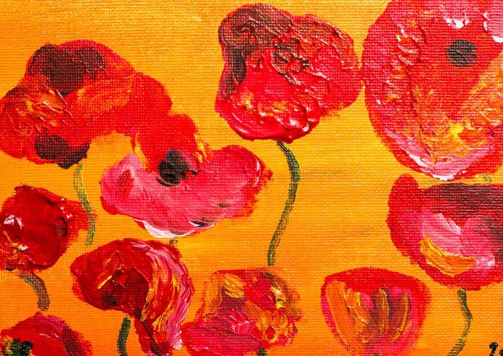 Poppy 94 November 6th 2014 - 100poppies100days