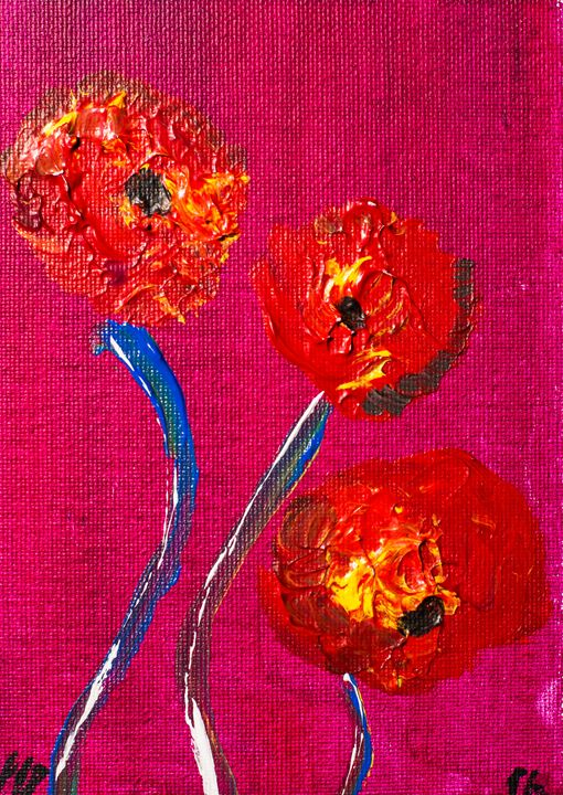 Poppy 96 November 8th 2014 - 100poppies100days