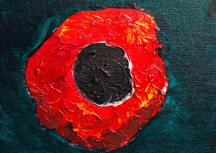 Poppy 97 Sunday November 9th 2014 - 100poppies100days