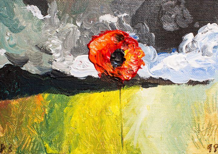 Poppy 98 Monday November 10th 2014 - 100poppies100days