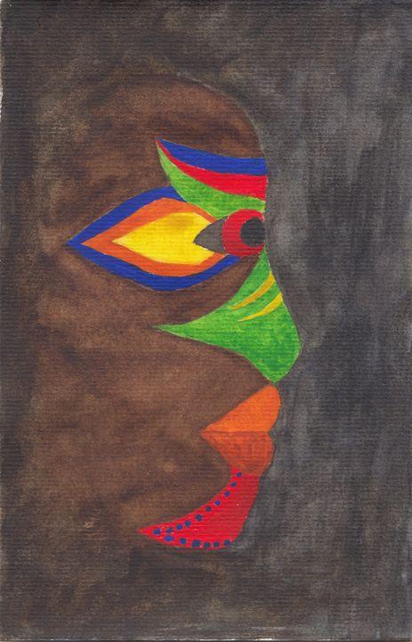 African Mask - Alba Knight-Archer