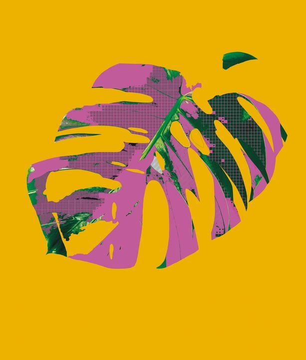 Pop Art Leaf - Ayşe Balköse