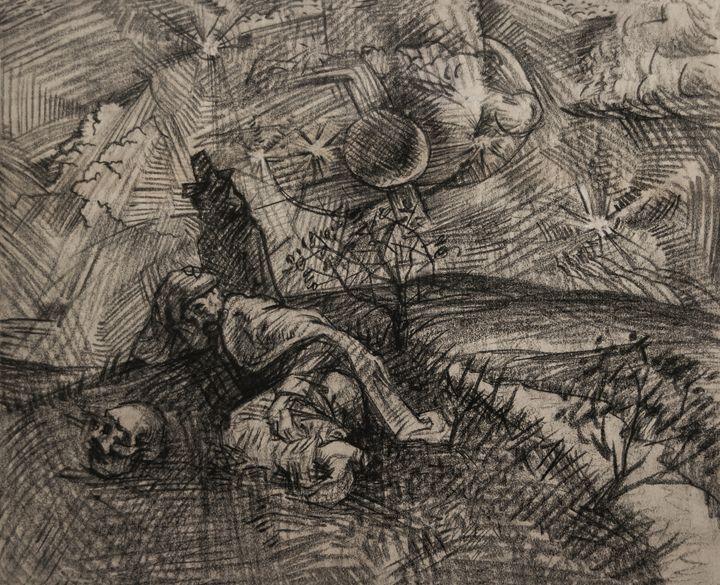 Sleeping - Expressionism