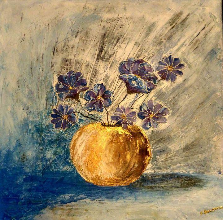 Les fleurs bleues - Bouzana Léandre