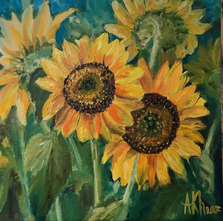 Sunflowers - Anastasiya Kharchenko
