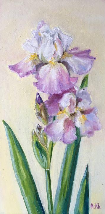 Lavender Iris - Anastasiya Kharchenko