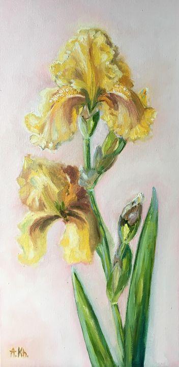 Yellow Iris - Anastasiya Kharchenko