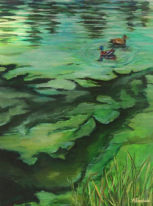 Emerald lake - Anastasiya Kharchenko