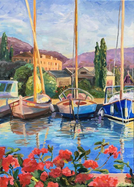 Memories of French Riviera - Anastasiya Kharchenko