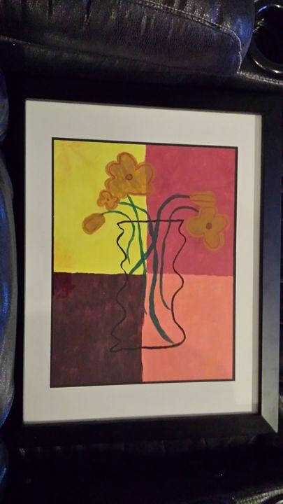 vase - k.b's art