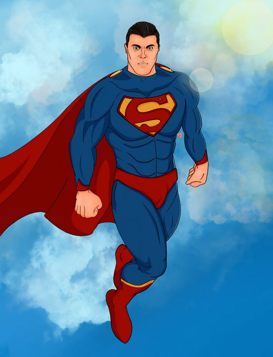 Man of Steel - Drawing with Drew
