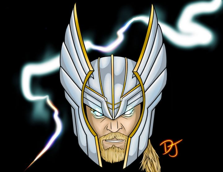 Thor - God of Thunder - Drawing with Drew