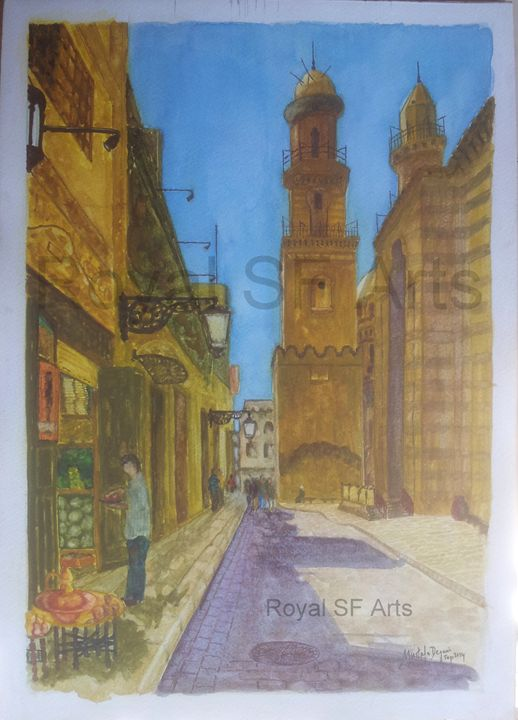 BAB UL FUTAH CAIRO EGYPT - Royal SF Arts