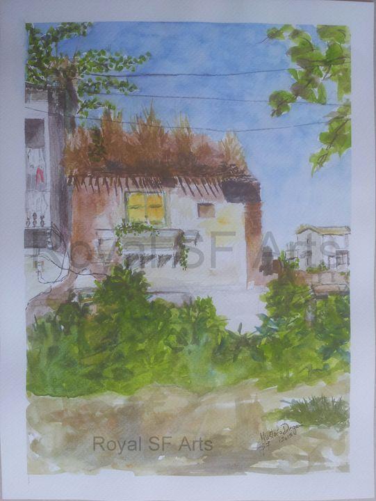 Village Ruins in Rajasthan India - Royal SF Arts