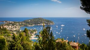 Panorama on Saint Jean Cap Ferrat