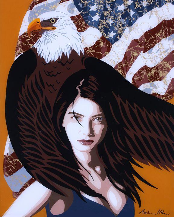 Elements of a Woman: Honor - Amber Dawn Plexi Art