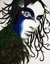 Amber Dawn Plexi Art