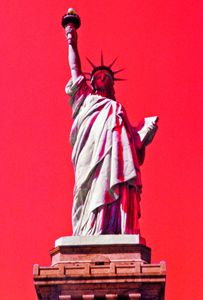 Liberty in Red, White and Blue